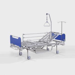 Łóżko szpitalne LP-01.4 - czterosegmentowe