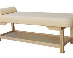 Leżanka drewniana ROMA-1B z regulacja wysokości 1-częściowa